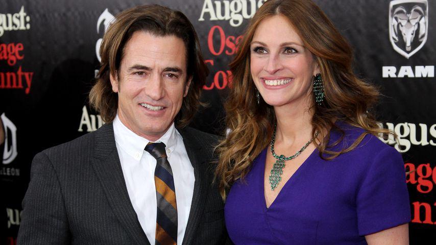 Dermot Mulroney und Julia Roberts auf einem Event in NY