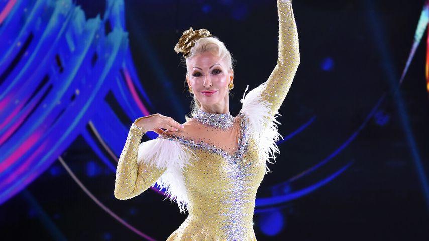 "Ausdrucksstark ohne Worte: Désirée Nick bei ""Dancing on Ice"""