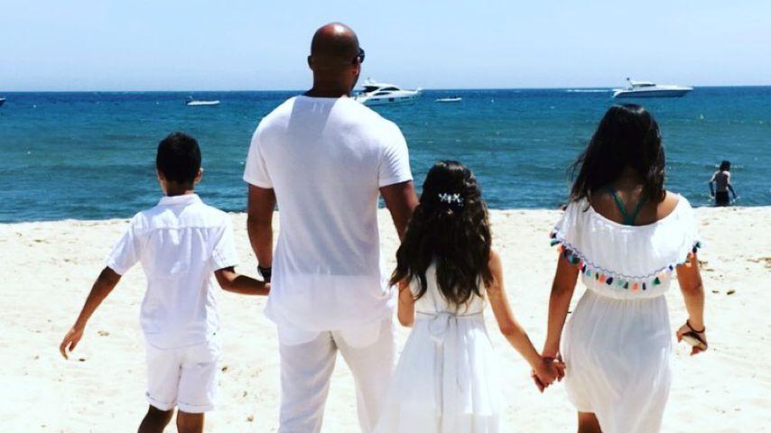 Detlef Soost mit seinen Kindern Carlos, Ayana und Chani