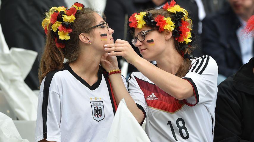 Deutsche Fans bei der EM 2016