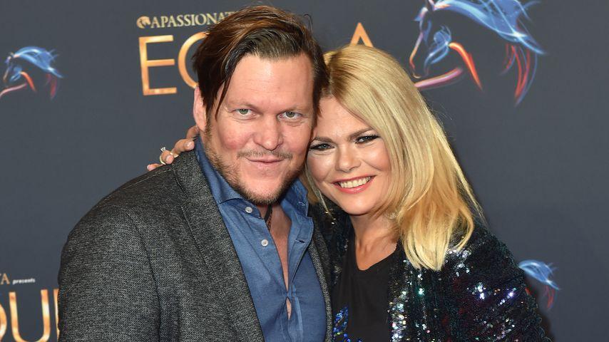 Diana Herold mit ihrem Partner Michael Tomaschautzki, 2013