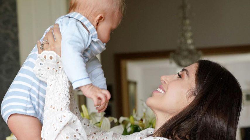 Diana June und ihr Sohn Adrian