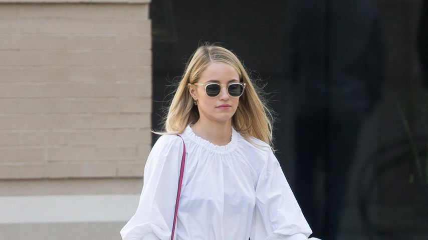 Dianna Agron in New York