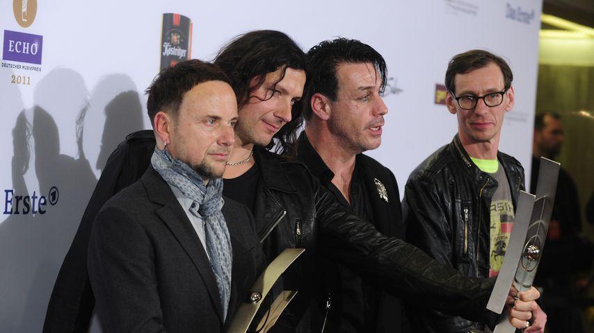 Rammstein bei der Echo-Verleihung 2011