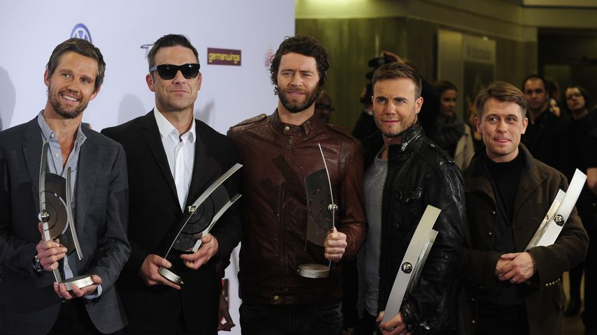 Take That bei den Echo Music Awards in Berlin, 2011
