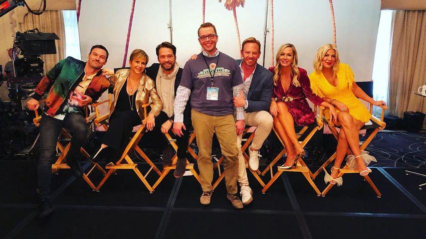 Die Beverly Hills 90210-Stars am Set 2019