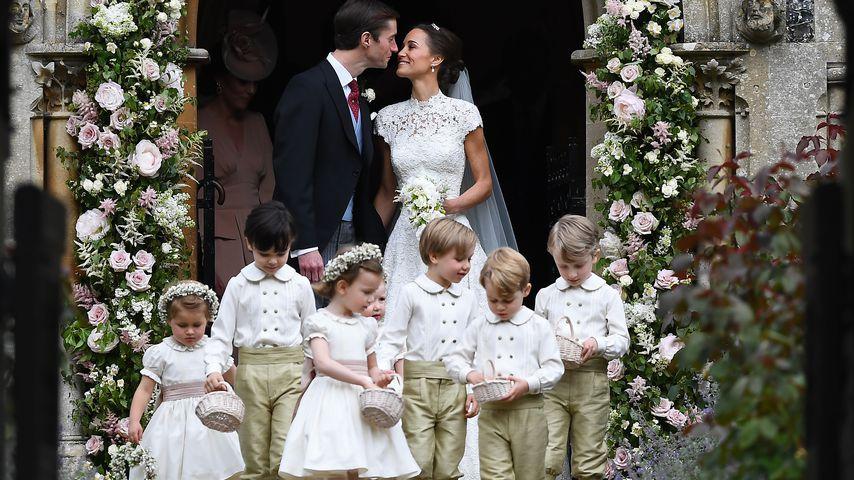 Happy! Pippa Middleton freut sich, Tante zu sein