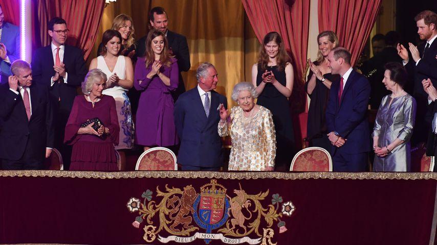 Die britischen Royals beim Geburtstag von Queen Elizabeth II. in der Royal Albert Hall