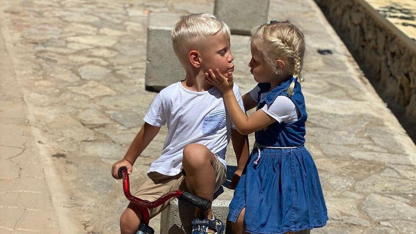 Die Büchner-Zwillinge Diego Armani und Jenna Soraya