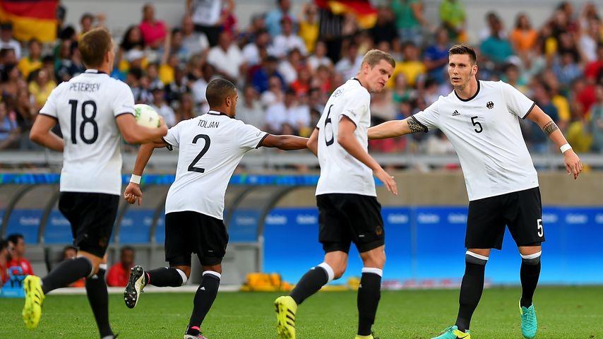Die deutsche Fußball-Olympiamannschaft 2016
