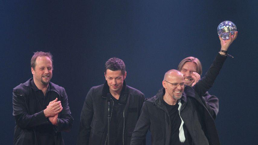 Die Fantastischen Vier bei der Verleihung der 1Live Krone 2010