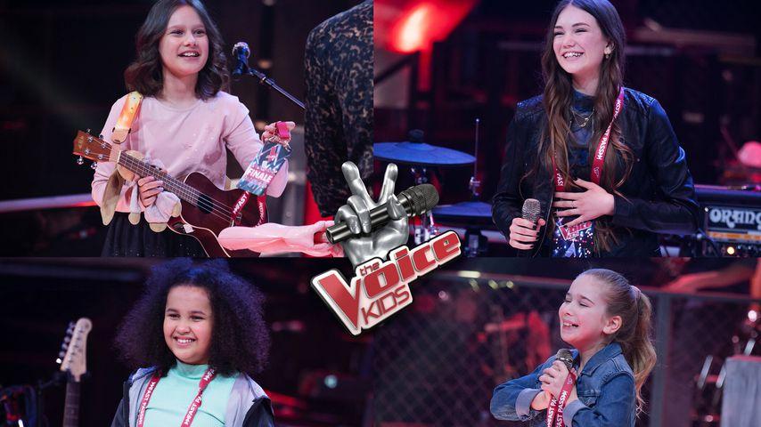 """Isabella, Emily, Rahel und Henriette, """"The Voice Kids""""-Finalistinnen"""