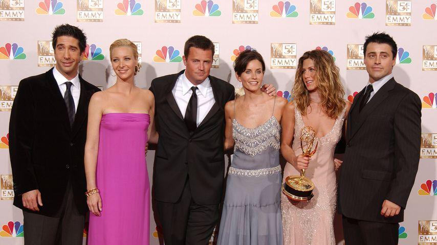 David Schwimmer, Lisa Kudrow, Matthew Perry, Courteney Cox, Jennifer Aniston und Matt LeBlanc