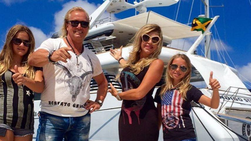 Carmen Geiss, Robert Geiss, Davina Shakira Geiss und Shania Tyra Geiss