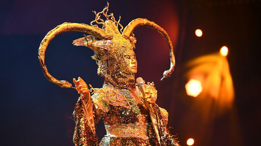 """Die Göttin bei """"The Masked Singer"""""""