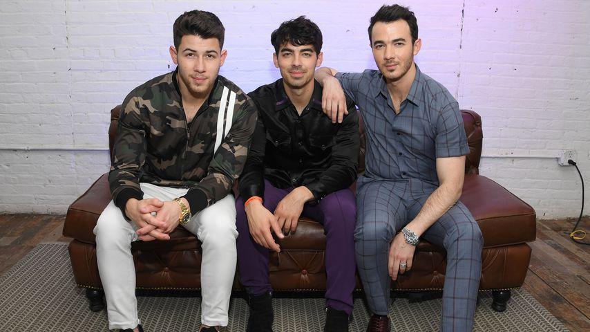 Die Jonas Brothers im Juni 2019