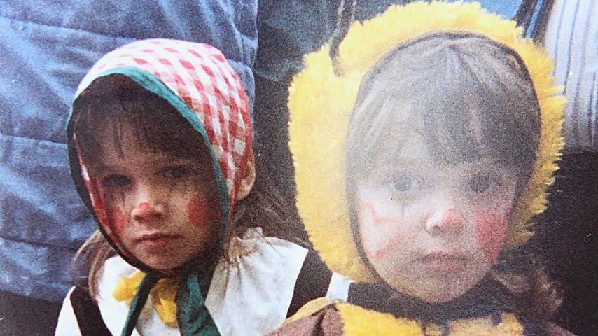 Daniela Katzenberger und ihr Bruder Tobias in Kindertagen