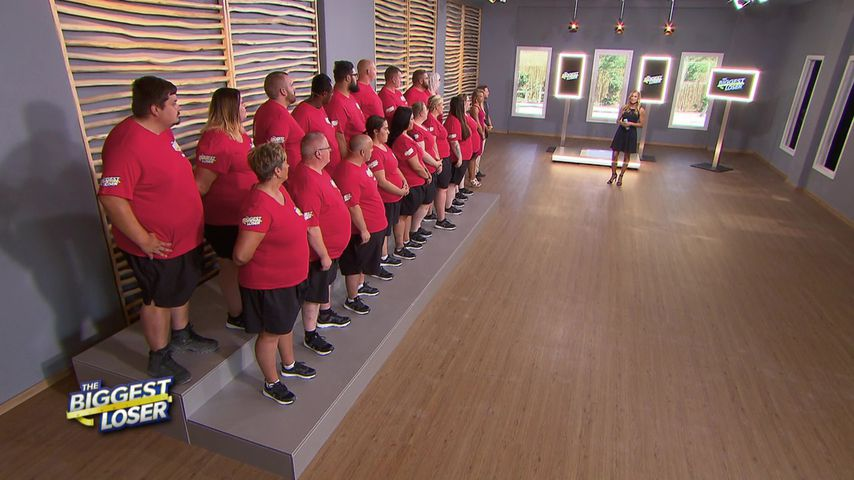 "Die Kandidaten von ""The Biggest Loser"" mit Christine Theiss"
