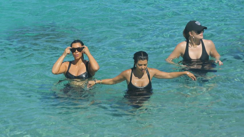 Khloe Kardashian, Kim Kardashian, Kourtney Kardashian und Kris Jenner