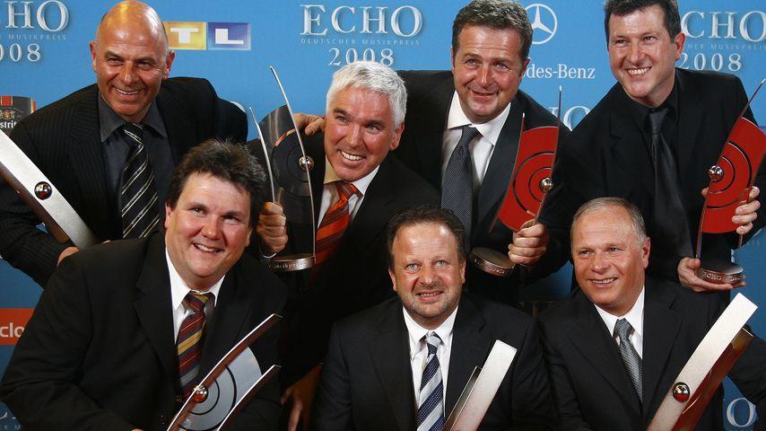 Die Kastelruther Spatzen bei der ECHO-Verleihung 2008
