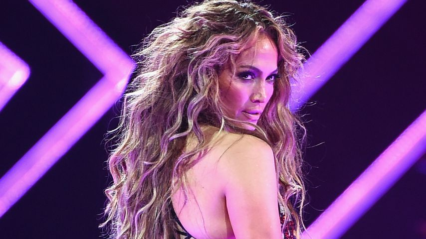 Jennifer Lopez bei einem Konzert in Minneapolis, 2018