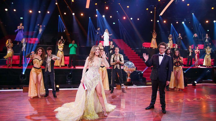 """Die """"Let's Dance""""-Finalisten, Victoria Swarovski und Daniel Hartwich"""