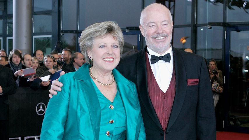 """Die """"Lindenstraße""""-Stars Marie-Luise Marjan und Bill Mockridge beim Deutschen Filmpreis 2007"""