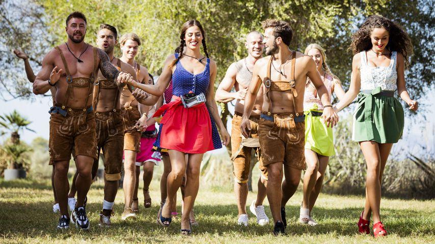 """Mit sexy Tracht: Bei """"Love Island"""" wird Oktoberfest gefeiert"""