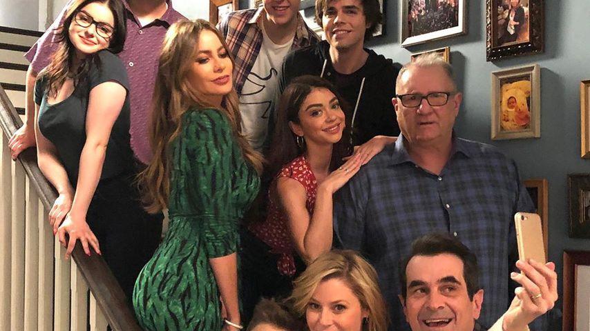 "Die ""Modern Family""-Stars am Set"