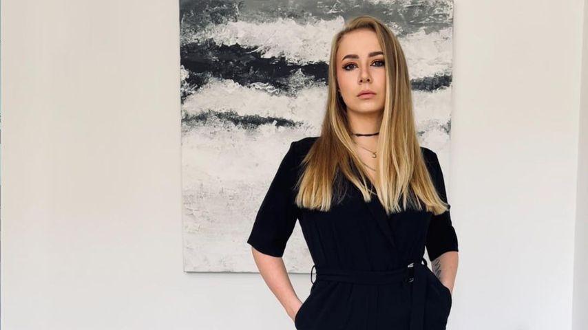"Die ""Princess Charming""-Kandidatin Sarina im Mai 2021 in Aachen"