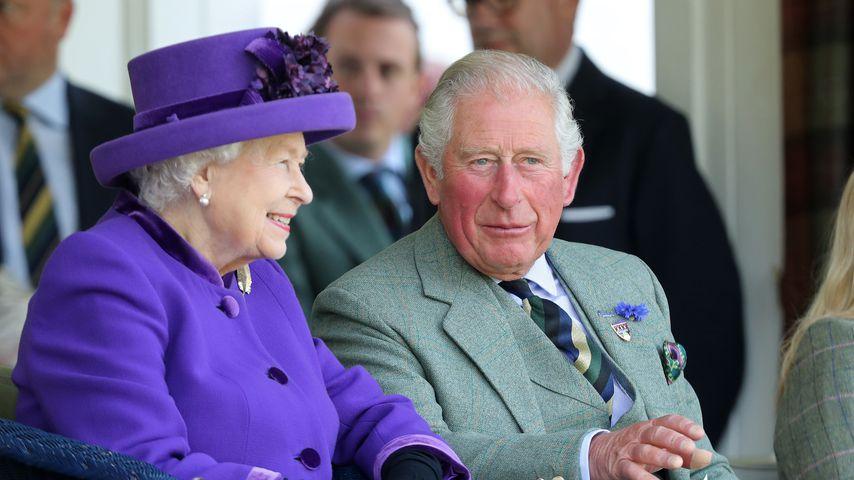 Queen Elizabeth II. und Prinz Charles, 2019