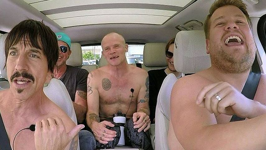 """Carpool Karaoke"": Red Hot Chili Peppers und James Corden"
