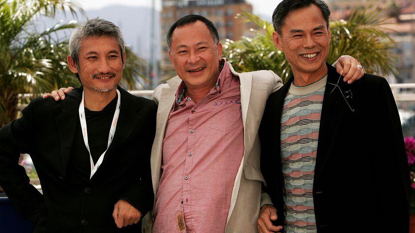 Die Regisseure Tsui Hark, Johnnie To and Ringo Lam