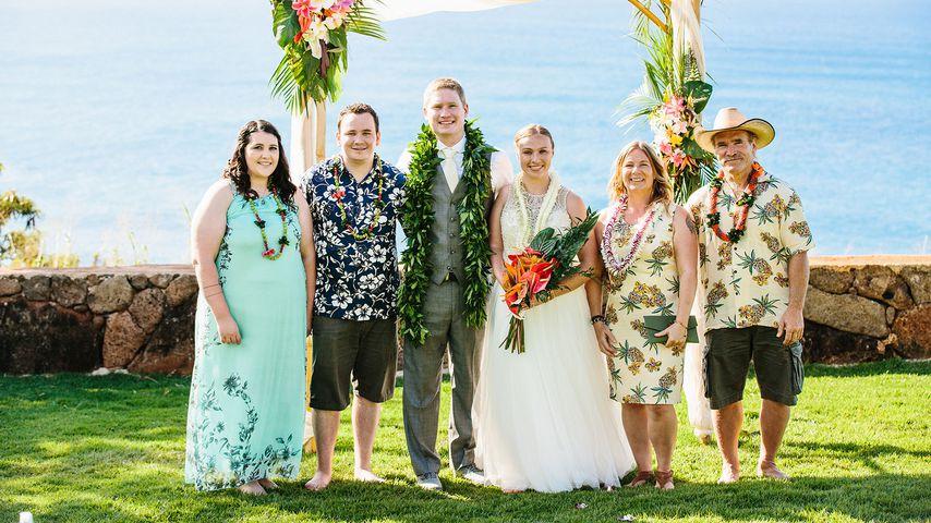 Erste Bilder So Schön Heiratet Janina Reimann Auf Hawaii