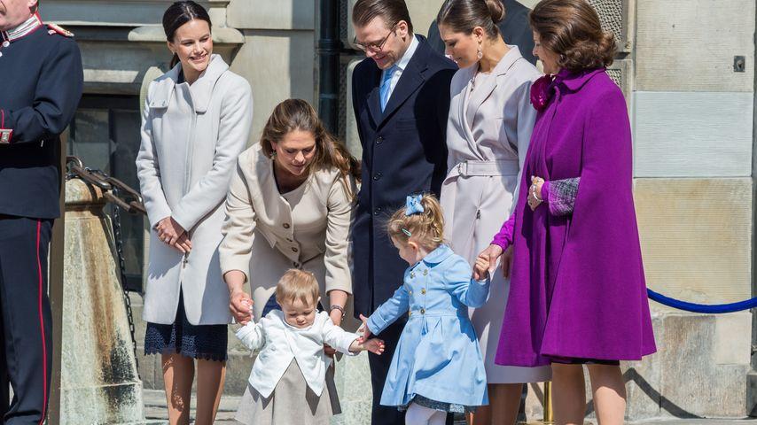 Prinzessin Leonore von Schweden, Madeleine von Schweden, Prinzessin Estelle von Schweden, Prinzessin