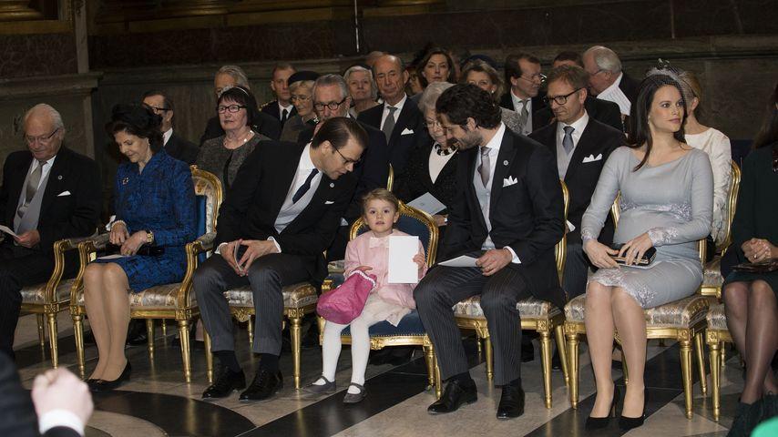 Prinz Carl Philip von Schweden, Prinzessin Estelle von Schweden, Sofia Hellqvist, Königin Silvia von