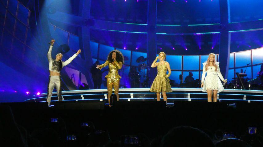 Die Spice Girls bei ihrem Konzert in Dublin
