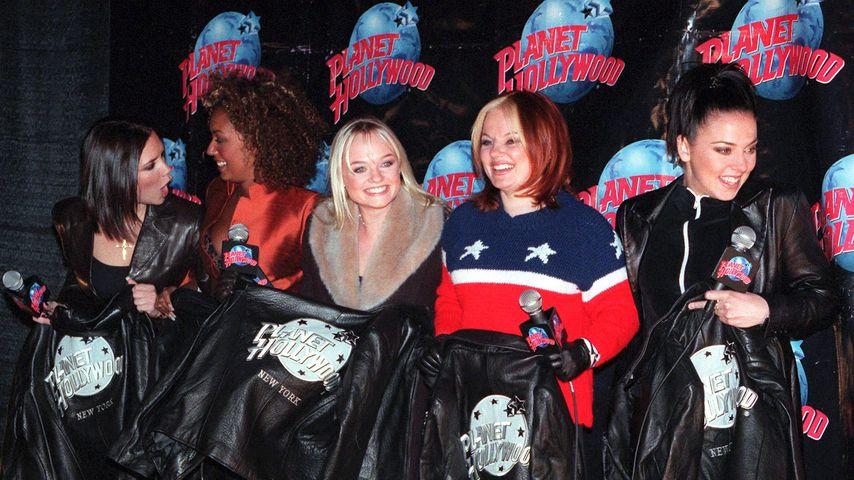Die Spice Girls im Jahr 1998