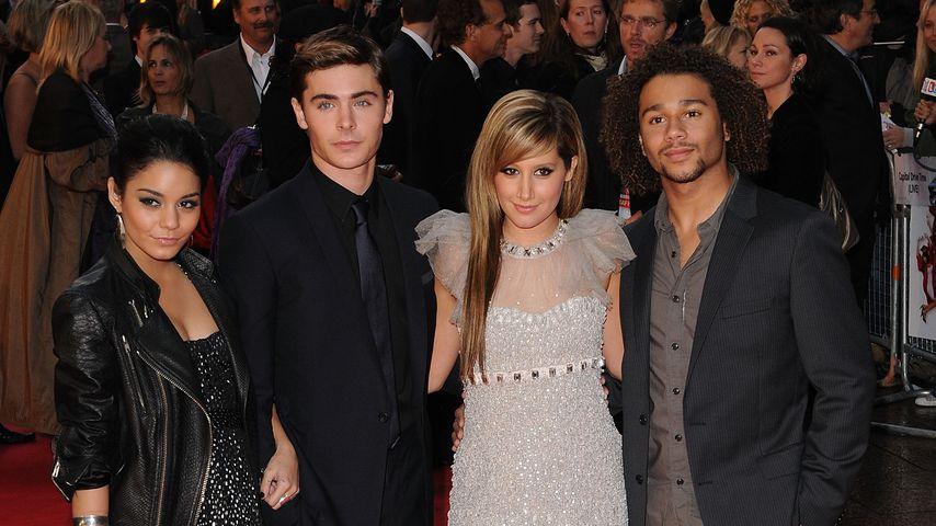 """Die """"High School Musical""""-Stars auf einer Filmpremiere"""