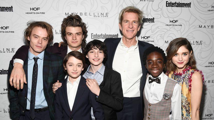 """Die """"Stranger Things"""" Schauspieler im Januar 2017"""