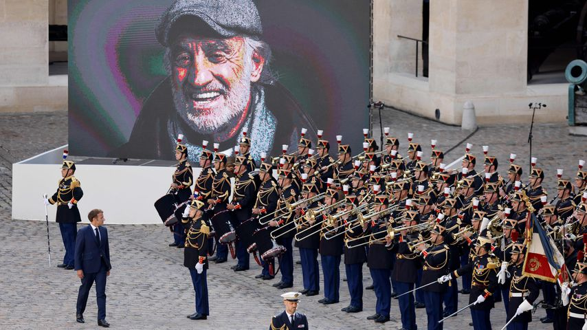 Große Gedenkfeier für Jean-Paul Belmondo in Frankreich