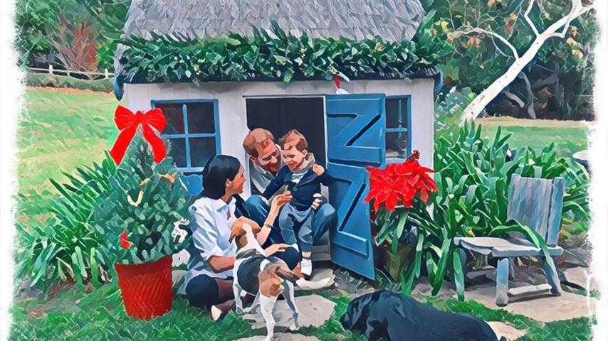 Neues Foto: Meghan, Harry und Archie senden Weihnachtsgrüße!