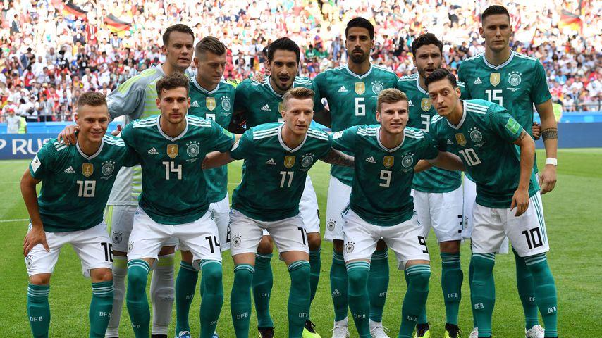 Die deutsche Nationalmannschaft vor dem WM-Vorrundenspiel gegen Südkorea