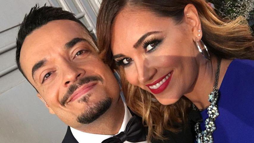 Giovanni und Jana Ina Zarrella bei der Katzenberger-Hochzeit