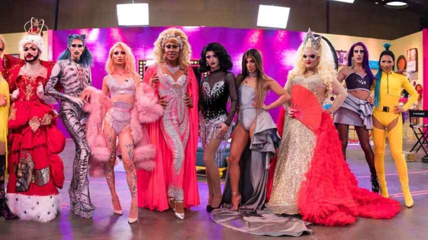 """Die zehn Teilnehmer von """"Queen of Drags"""" Staffel 1"""