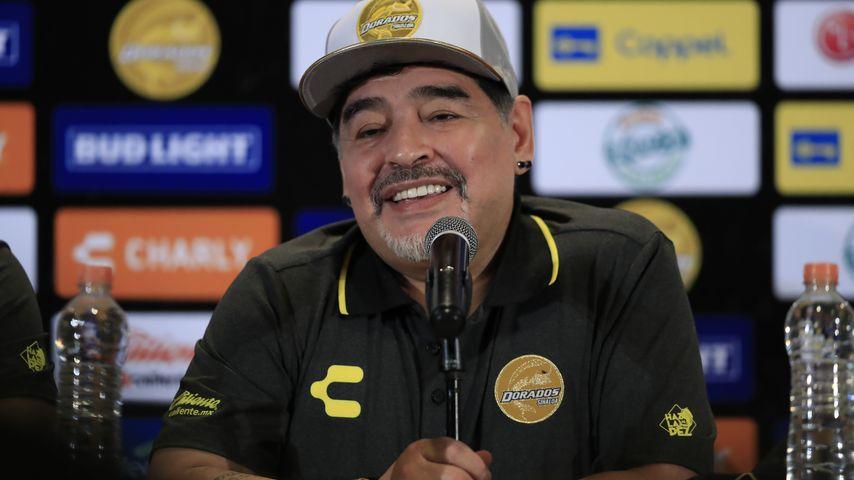 Diego Maradona, ehemaliger Fußballprofi