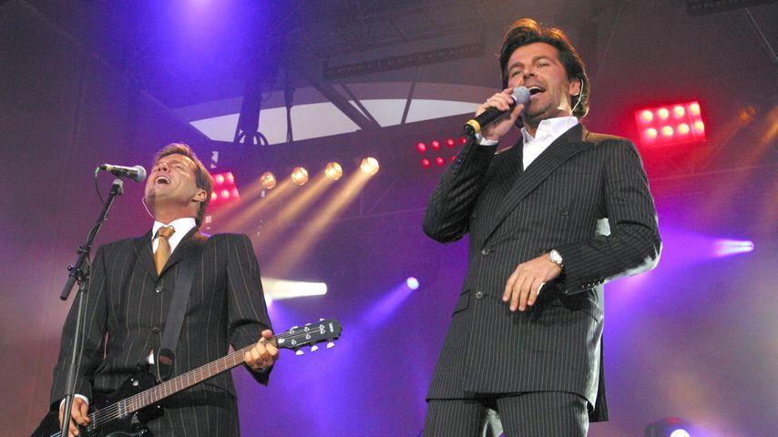 Dieter Bohlen und Thomas Anders 2003