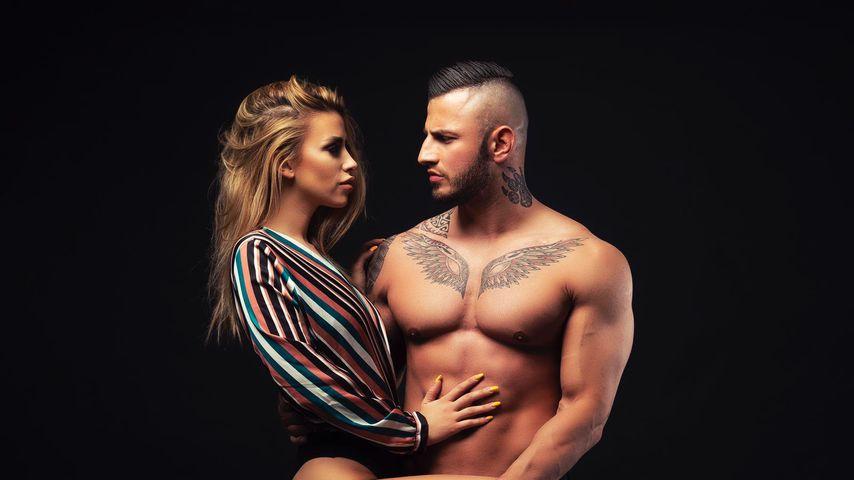 Dijana Cvijetic und Erko Jun bei einem Fotoshooting