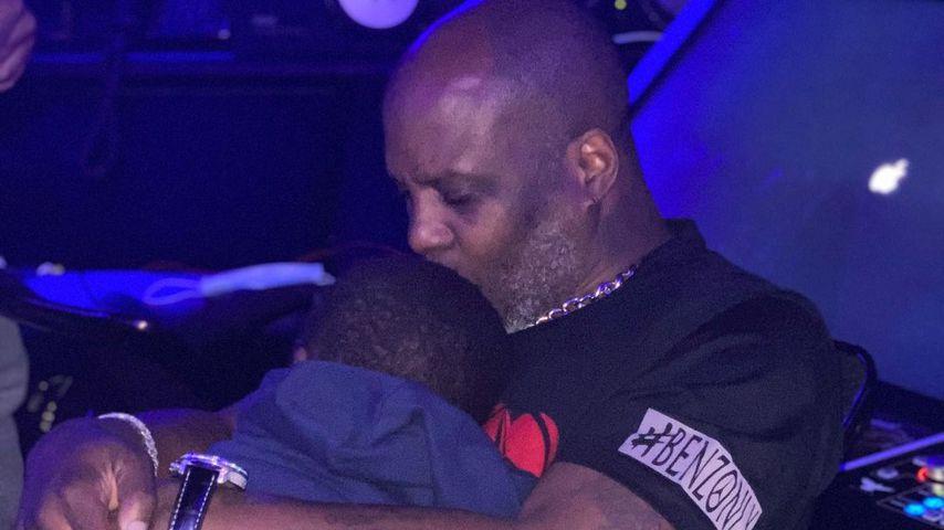DMX mit einem seiner Söhne