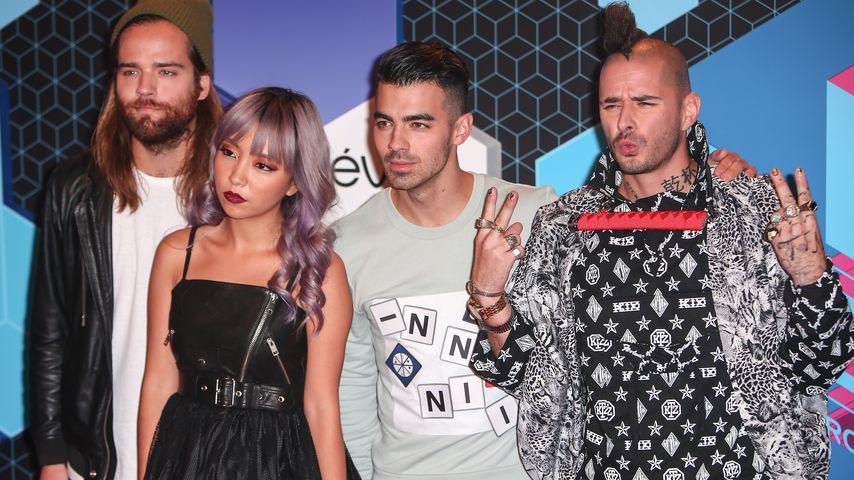 """DNCE bei den """"MTV Music Awards"""" in Rotterdam 2016"""